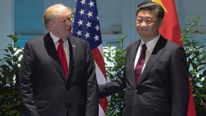 trump visita china