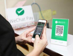 pagos móviles en China
